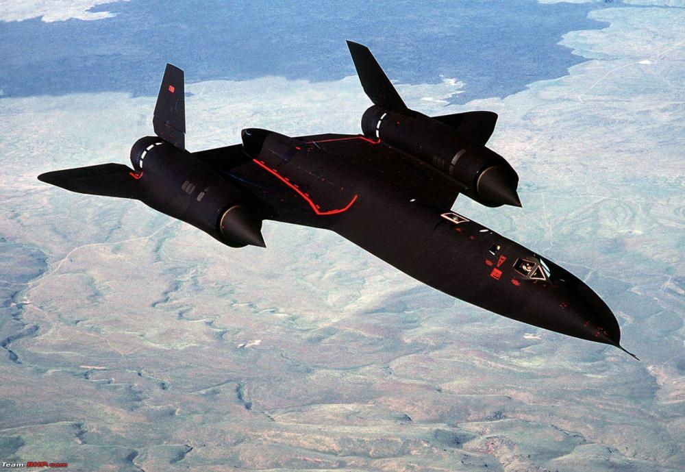 SR-71高空侦察机