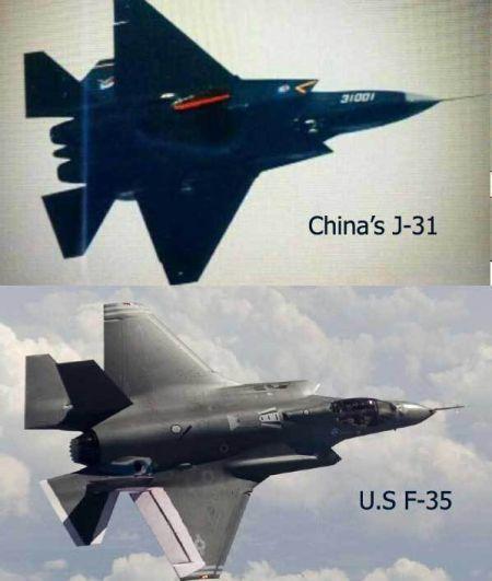 歼31和F35外形很像,多国代表参观,甚至试飞过1.0版本,评价不算太高