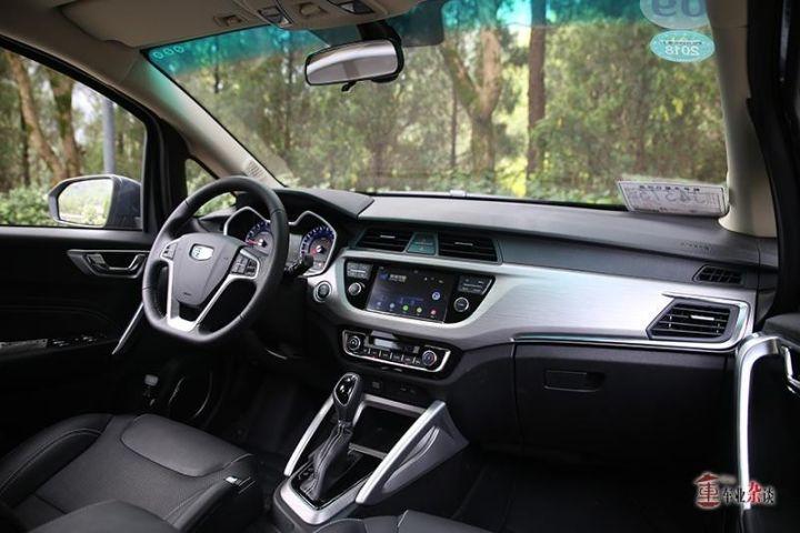 小型SUV新选择!试驾吉利远景X3