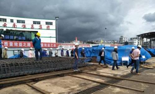 昆明地铁5号线 17座站开始施工 预计2020年通车试运营图片