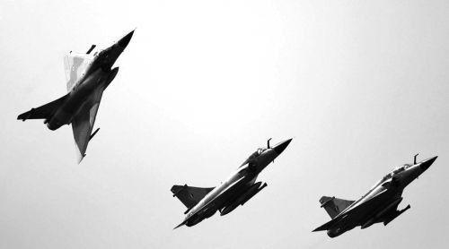 ▲印度空军幻影-2000战斗机