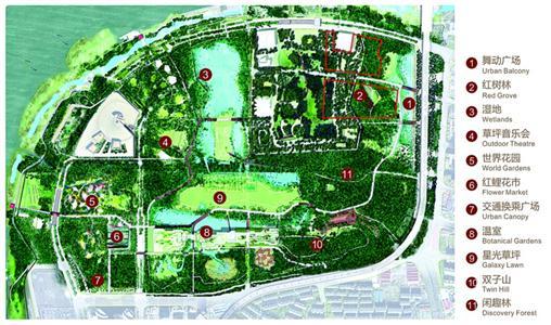 世博文化公园平面图
