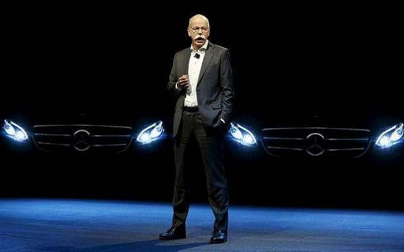 戴姆勒股份公司董事会主席、梅赛德斯-奔驰汽车集团全球总裁蔡澈讲解集团战略