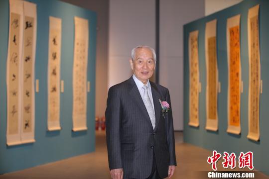 80岁日本书法家赤井清美作品展亮相嘉德艺术中心
