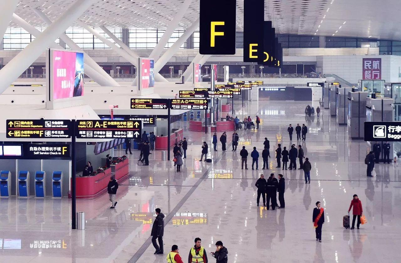 △新郑国际机场T2航站楼