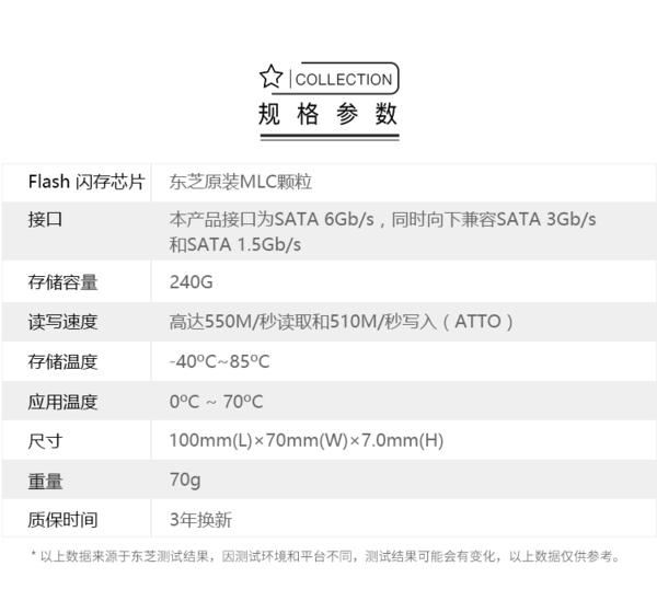 东芝原厂颗粒Q200 EX 240G固态硬盘使用初体验