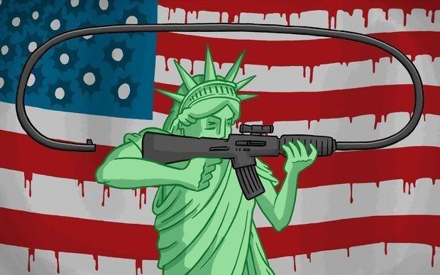 美国枪击案与缅甸内战
