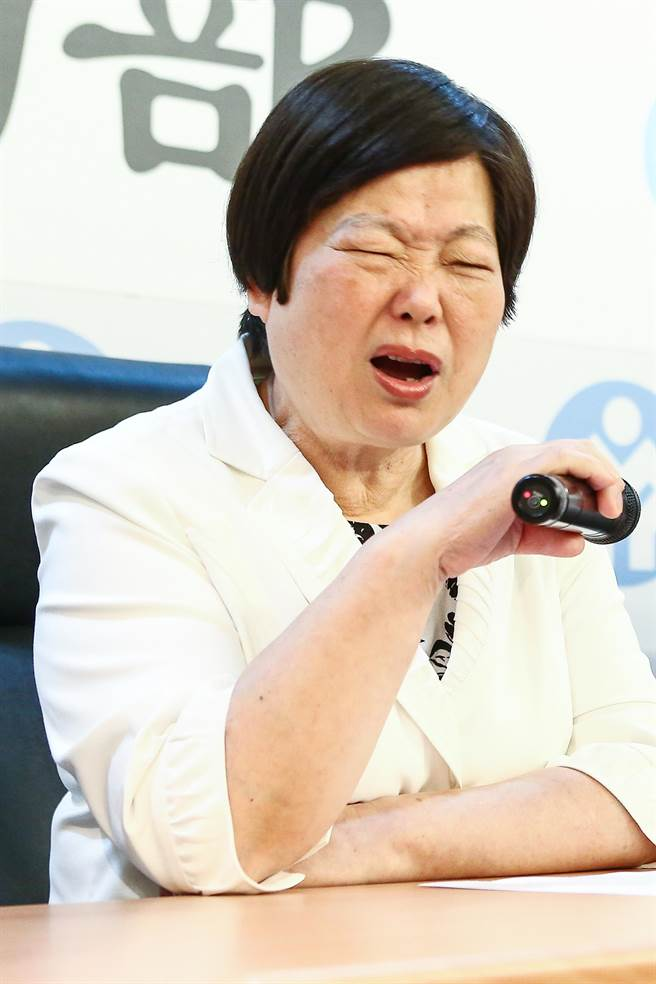 """台当局劳动部门负责人林美珠(图片来源:""""中时电子报"""")"""