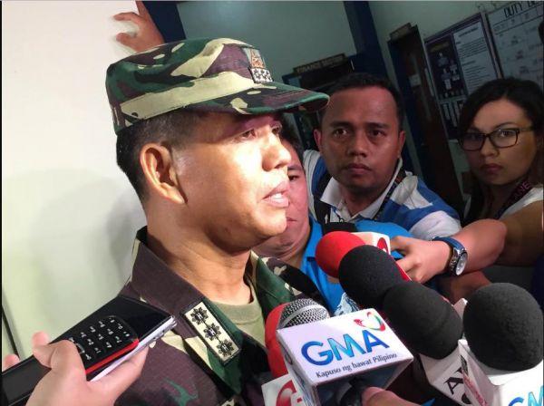 菲律宾新任陆军司令包蒂斯塔(资料图片)