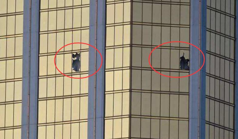 帕多克朝两个不同方向射击,试图引爆燃料罐
