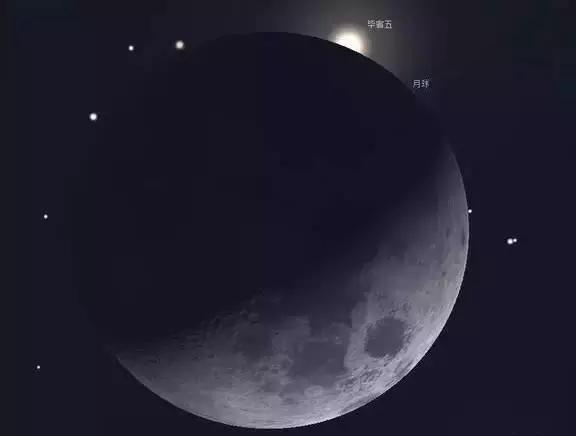 """我国10日将上演月亮""""吞食""""毕宿五奇趣天象"""