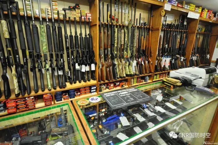 美国街头枪支泛滥(图片来源网络)