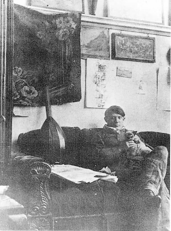 毕加索自拍像