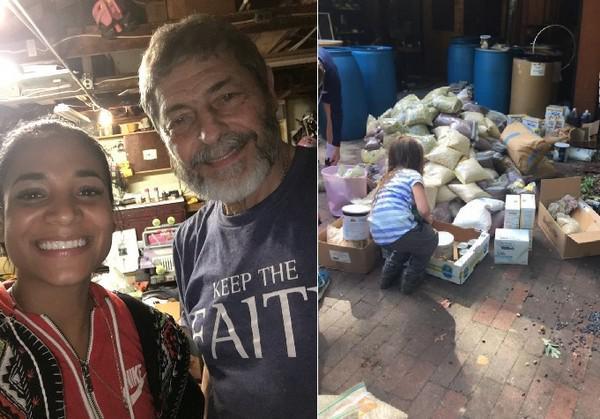 捐出囤积45年的粮食,巴达姆拯救了波多黎各整个城镇的灾民。