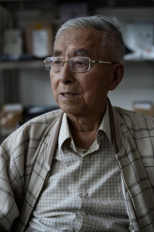 9月27日,杨维骏在昆明的家中接受本报记者专访。新京报记者 吴江 摄