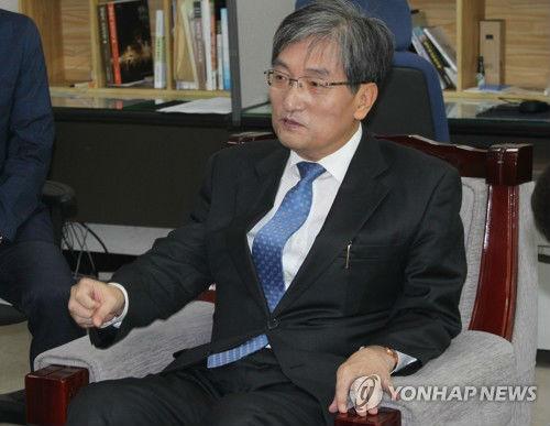 资料图片:韩国新任驻华大使卢英敏 图片来源:韩联社