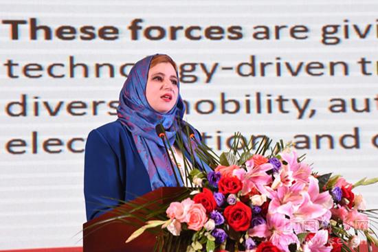 约旦投资和商务部门发展主任Arwa Husseir Alyhari