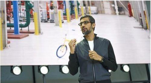 谷歌CEO:企业越大 越可能处于劣势