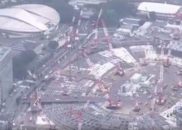 死者参与新国立竞技场的建设工作