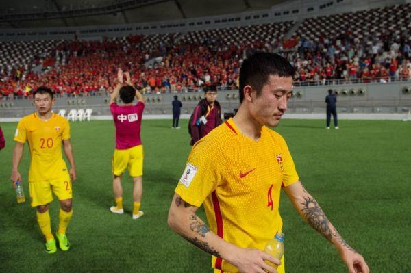 9月5日,国足2:1卡塔尔仍无缘世界杯。新华社记者孟涛摄