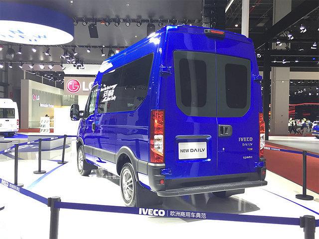 依维柯Daily将增8AT车型 广州车展上市