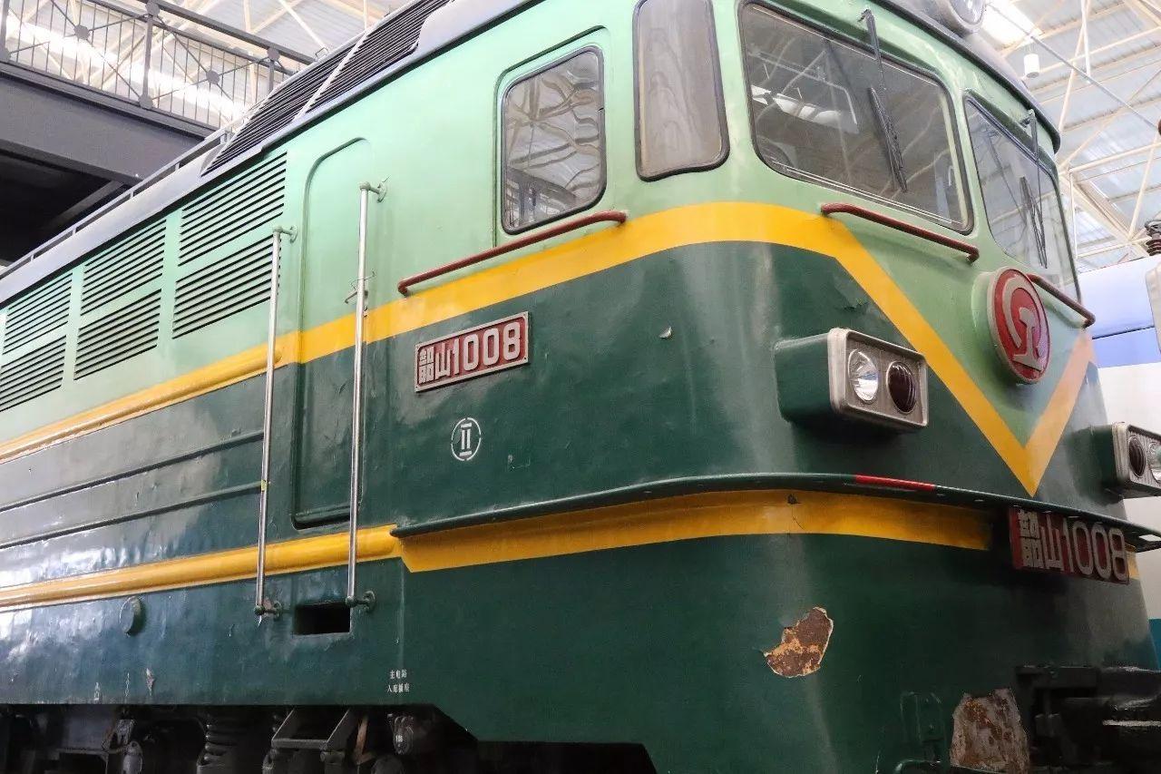 △韶山1型008号电力机车(资料图)