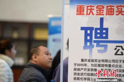 资料图。重庆举办人才招聘会现场
