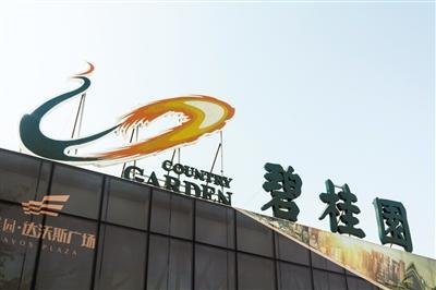 前三季碧桂园销售规模突破4000亿元,打破房企销售纪录。图/视觉中国