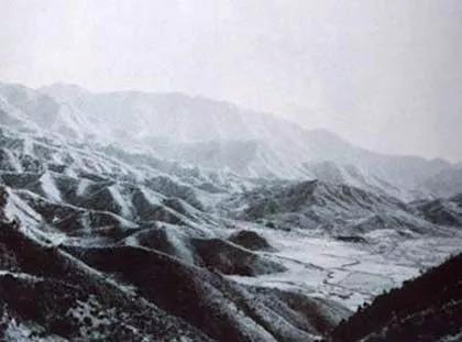 美军拍摄的上甘岭鸟瞰图  资料图 本文图片均来自中国军网
