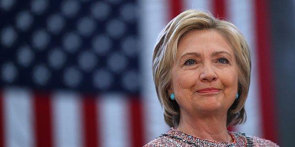 前民主党总统候选人希拉里。(图片来源:美联社)
