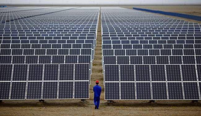 ▲资料图片:2016年年底,就发电量而言,中国已成为全球最大的太阳能发电国。(英国《金融时报》)