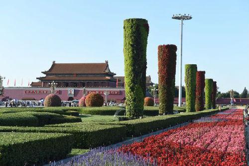 北京天安门广场 新华社记者罗晓光摄