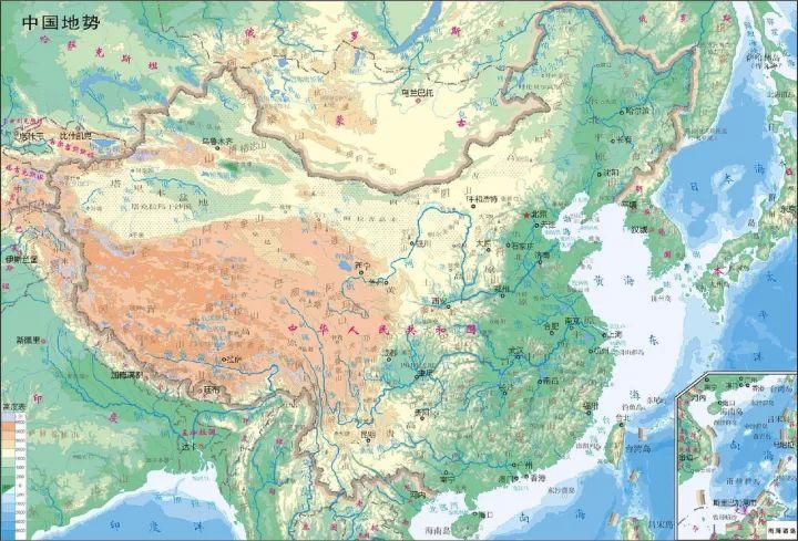 河流植被手绘图