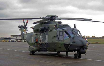 NH90直升机(资料图片)