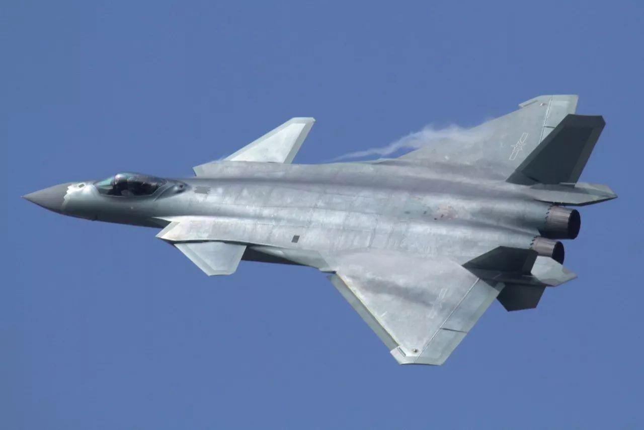 ▲歼-20战斗机(维基百科)