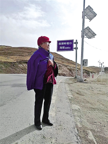 89岁的杨婆婆本组图片由受访者提供