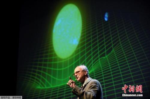 资料图:瑞典斯德哥尔摩当地时间10月3日,瑞典皇家科学院将2017年诺贝尔物理学奖授予Rainer Weiss,Barry C。 Barish和Kip S。 Thorne,以表彰他们在引力波研究方面的贡献。图为Ranier Weiss。