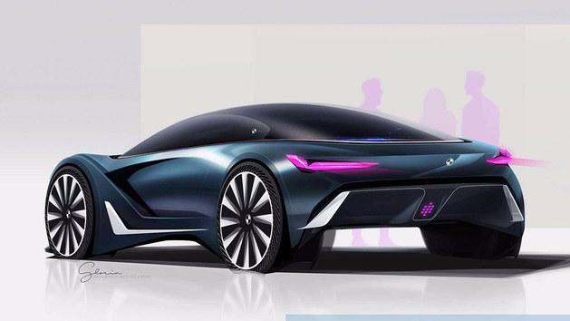 宝马旅行车渲染图曝光 可切换多种模式-新浪汽车