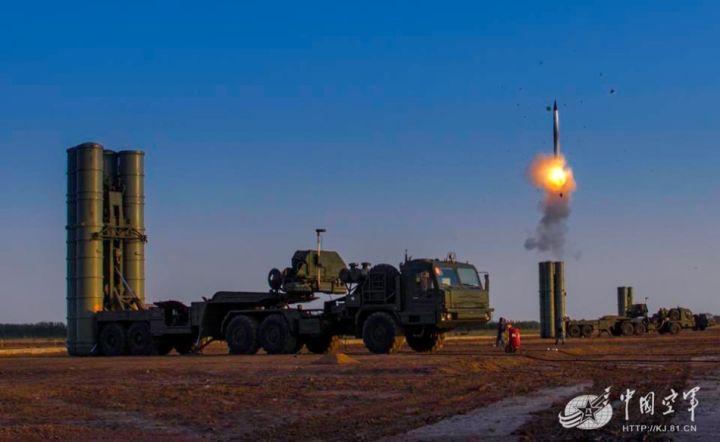 ▲资料图片:S300导弹发射(中国空军)