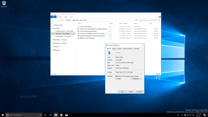 Win10 OneDrive文件按需下载功能开始向企业用户开放