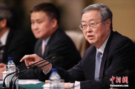 资料图:中国人民银行行长周小川。中新社记者 杜洋 摄