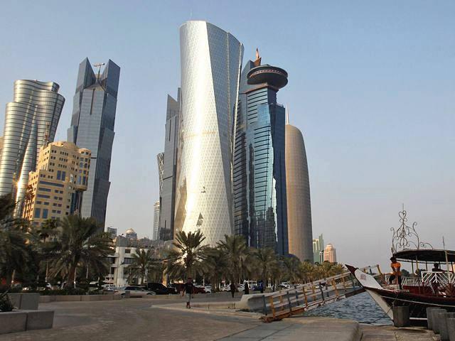 卡塔尔首都多哈。(新华/路透)