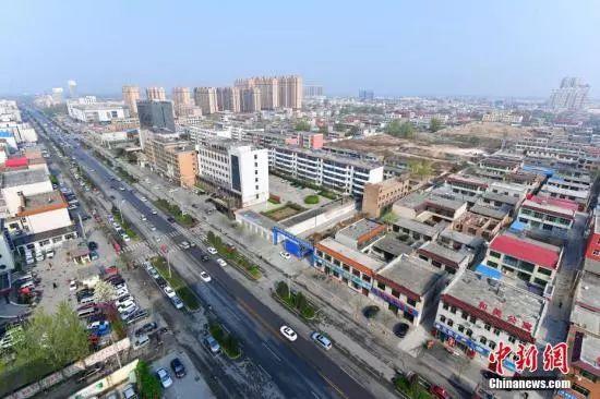 河北雄安新区——容城。中新社记者 翟羽佳 摄