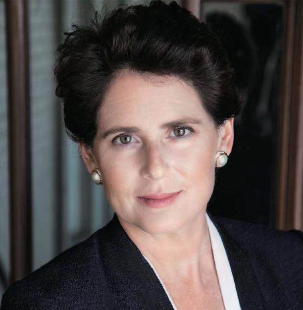 美国大休斯顿地区威利学校校长Gabriella Rowe女士。