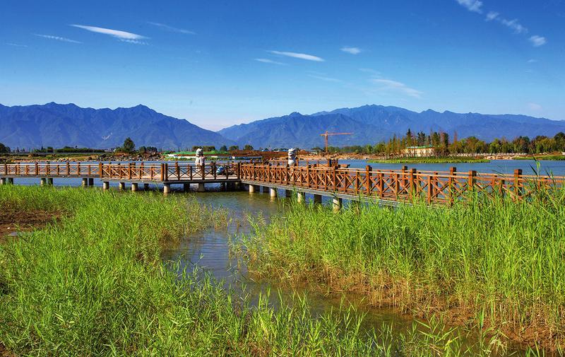 西安建设九条生态示范河湖 将新增生态水面4.45万亩