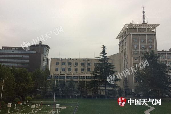 今天早晨,北京雨后能见度在5公里以上。