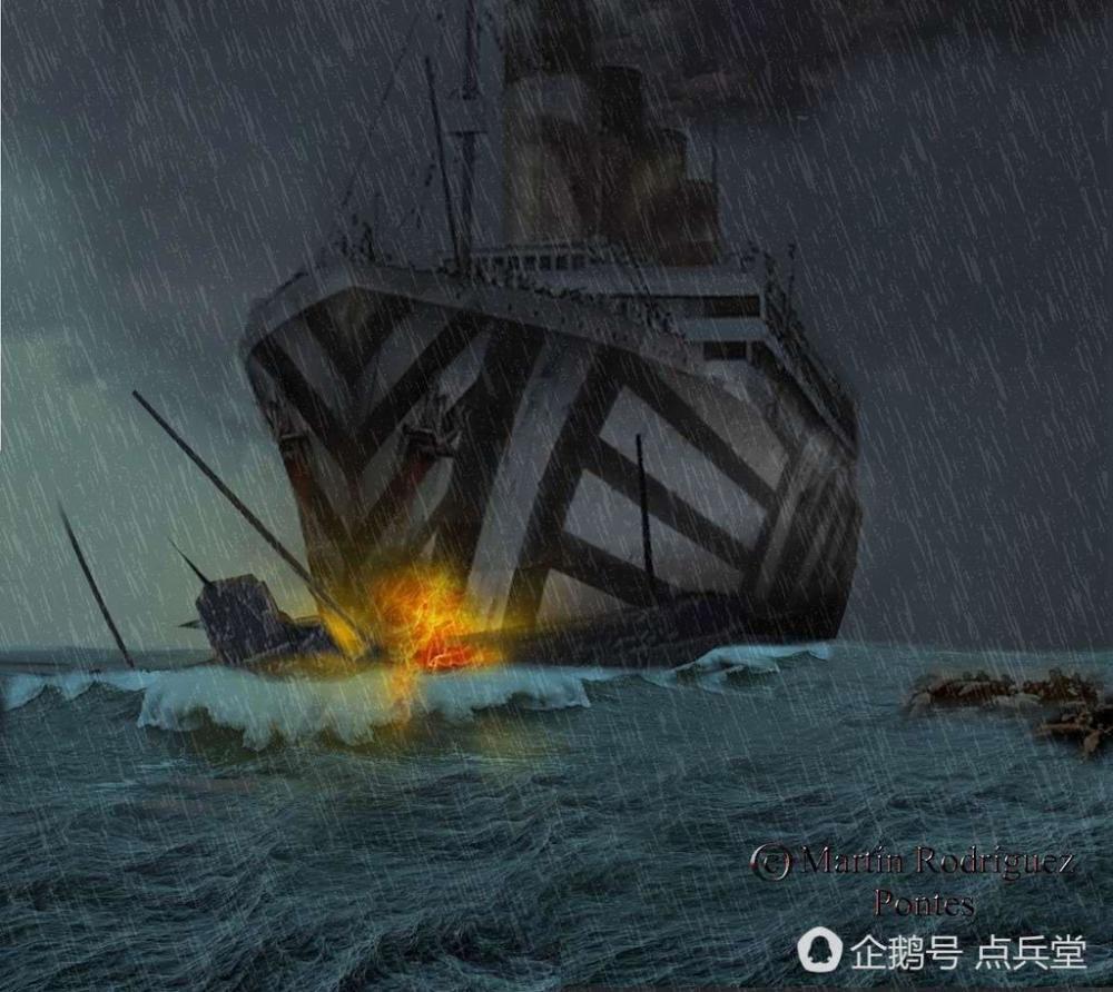 泰坦尼克号有个彪悍姐妹舰:撞船对决中从没输过