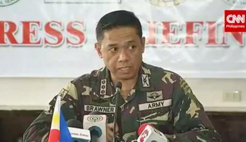 图片来自CNN Philippines电视台直播画面截图