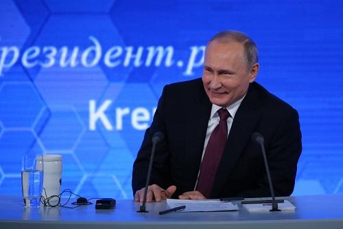 资料图:俄罗斯总统普京 新华社记者白雪骐摄