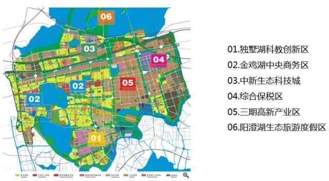苏州工业园区规划图